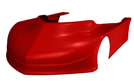 Aero Tuff Body Kit - Red